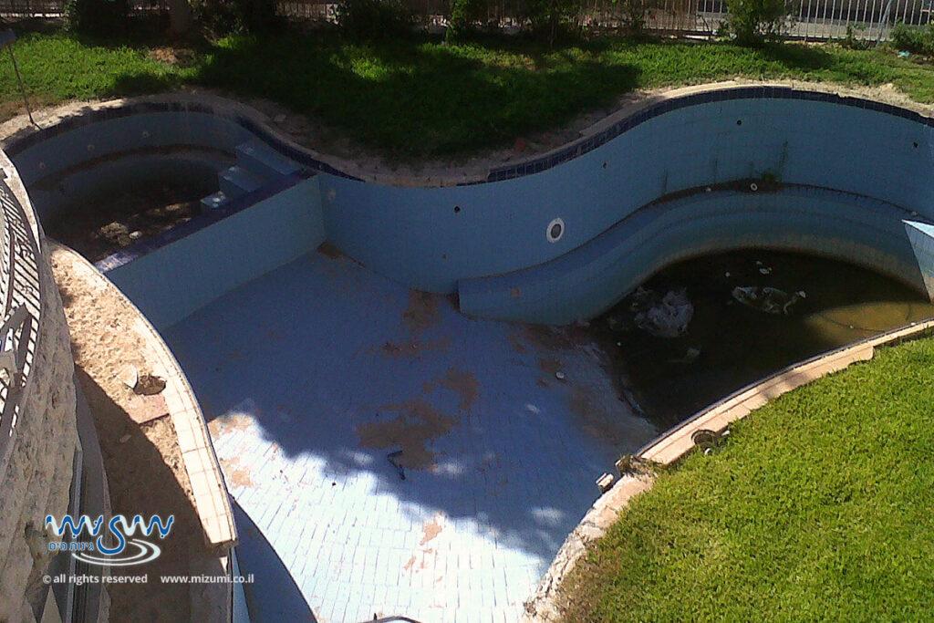 המרת הבריכה המוכלרת לבריכה אקולוגית מסורתית